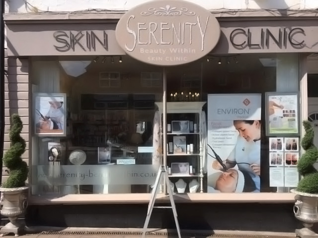 Image of Serenity Salon; Street View