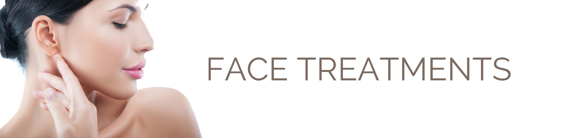 Face Treatments Banner