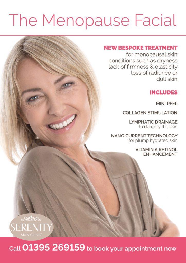 Menopause Express Facial Poster