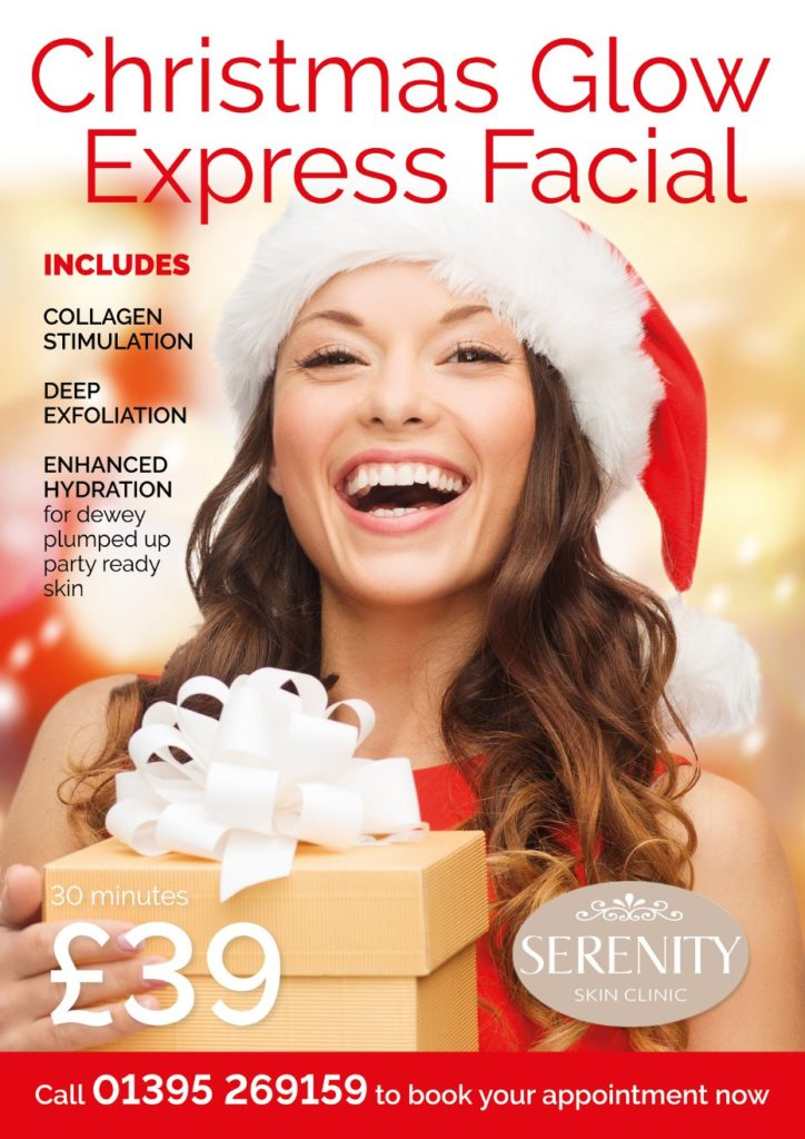 Christmas Flow Express Facial Poster